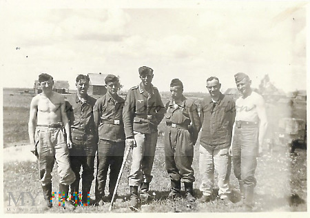 Oberwańcy z Luftwaffe.
