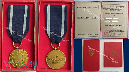 Medal za Odrę, Nysę, Bałtyk.