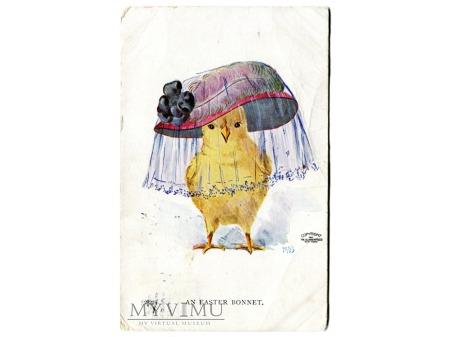 Kapelusz Wielkanocny An Easter Bonnet pocztówka