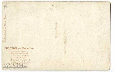 Quo Vadis - Winicjusz u Petroniusza - Mastroianni