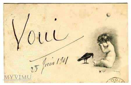 Kruk i płaczące dziecko 1901 VOUI