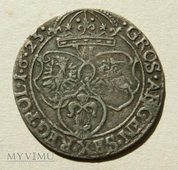 Szóstak m. Kraków- 1623 r- nienot ARGEN SigisMVN