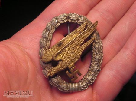 Luftwaffe Odznaka Spadochroniarz