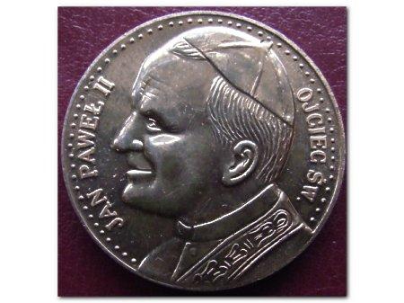 Duże zdjęcie Medal z Janem Pawłem II