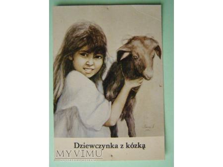 13. Dziewczynka z kózką. 1979