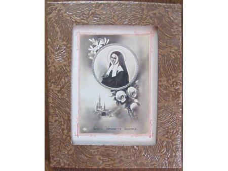 Duże zdjęcie Stara pocztówka ze Św. Bernadettą Soubirous