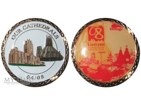 Liverpool Europejska Stolica Kultury medal 2008(1)