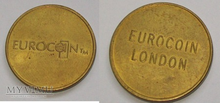 Żeton- Eurocoin London