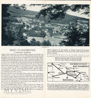 Folder - Bad Flinsberg im schlesischen Isergebirge