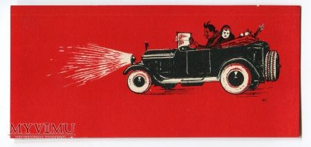 Bilecik zapalniczka z przemytu od Diabła samochód