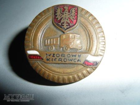 Odznaka Wzorowy Kierowca