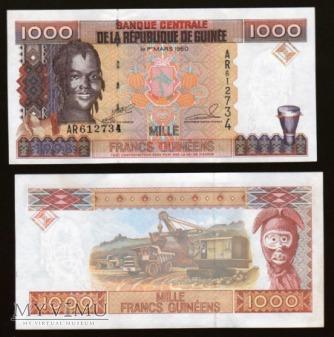 Guinea - P 37 - 1000 Francs - 1998