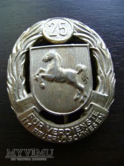 niemiecka odznaka strażacka