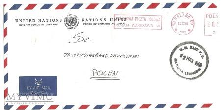 POCZTA POLOWA UNIFIL