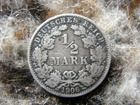 1/2 MARKI 1906 ROK