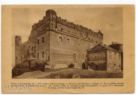 Golub - Dobrzyń - Zamek - lata 50-te