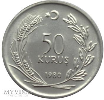 50 Kurus 1980