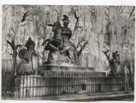 W-wa - pomnik Sobieskiego - 1961