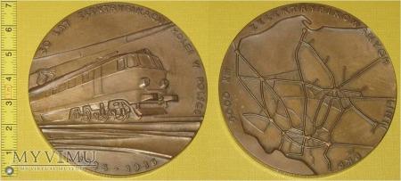 Medal kolejowy o elektryfikacji PKP