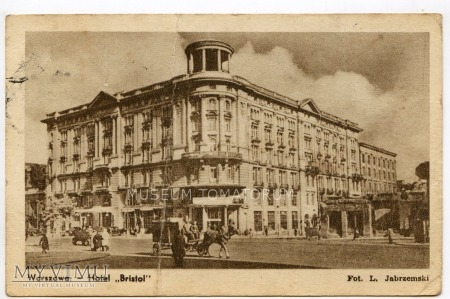 W-wa - Krakowskie Przed.- Hotel Bristol 1954