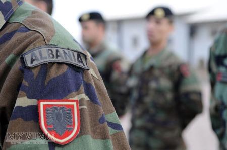 ALBANIA - Naszywka przynależności państwowej