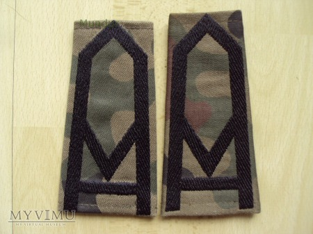Pochewki z oznakami stopnia - sierżant sztabowy