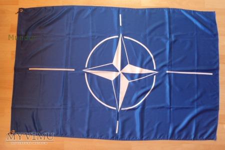 Duże zdjęcie Flaga NATO