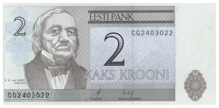 Duże zdjęcie Estonia - 2 korony (2006)