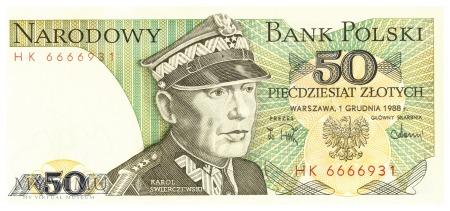 Polska - 50 złotych (1988)