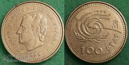 Hiszpania, 100 PESETAS 1999