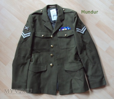 Brytyjski uniform mans no 2 dress army