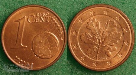 1 EURO CENT 2002 D