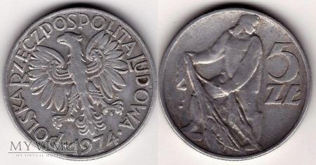1974, 5 zł RYBAK