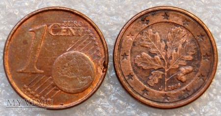 1 EURO CENT 2004 J