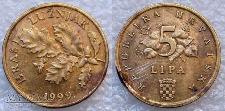 Chorwacja, 5 LIPA 1999