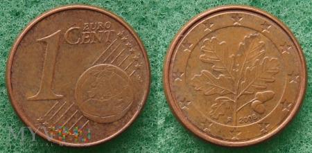 1 EURO CENT 2008 F