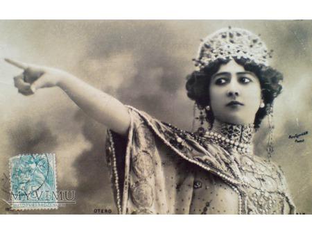c. 1905 Caroline OTERO ostatnia wielka kurtyzana
