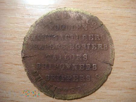 żetony / tokeny firmy Hill & Co -1825r