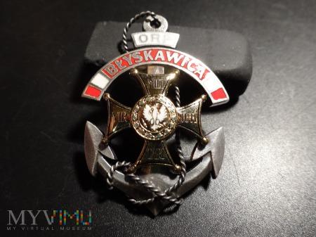 Pamiątkowa odznaka ORP ,, Błyskawica