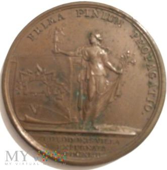 Duże zdjęcie Medal Ludwik XIV (suita J. Mauger) (1643)
