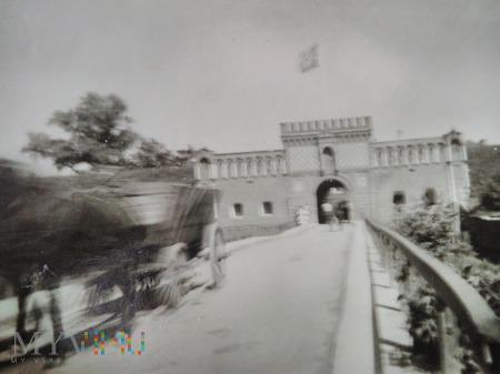 Fort Dęblin zajęty przez Niemców