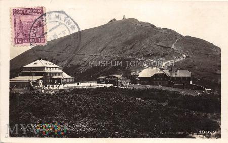 Karkonosze Śnieżka Schneekoppe 1930