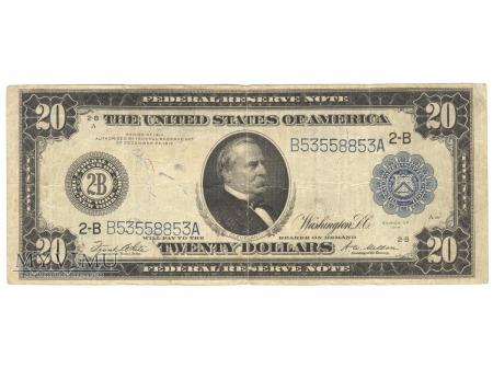 20 USD 1914
