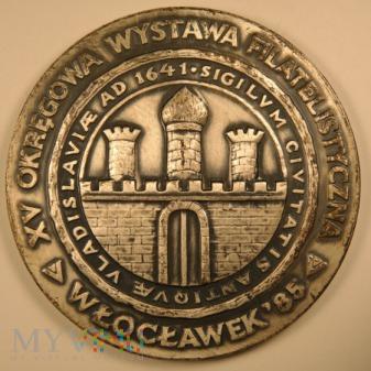 1985 - 92/85 - XV Wystawa Filatelistyczna Włocławe