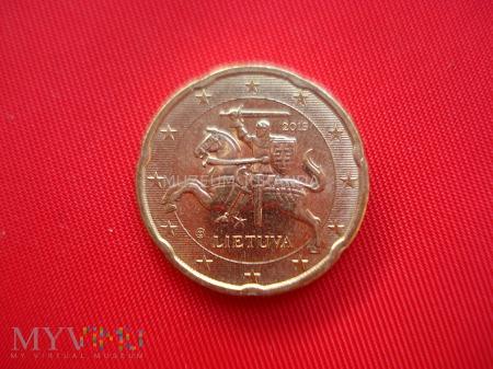 20 euro centów - Litwa