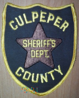 Culpeper county sheriff