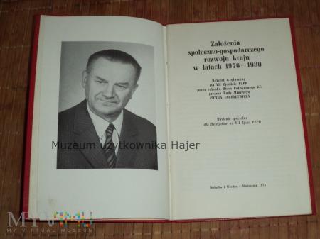 VII Zjazd PZPR - referat Piotra Jaroszewicza