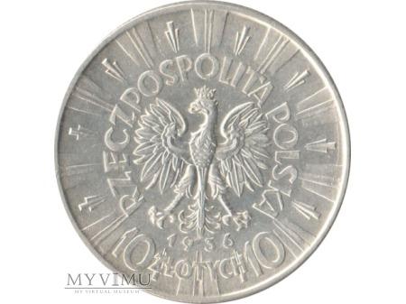 10 złotych 1936 rok