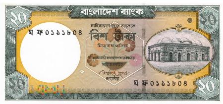 Bangladesz - 20 taka (2011)
