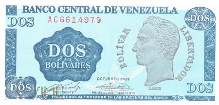 Wenezuela - 2 boliwary (1989)